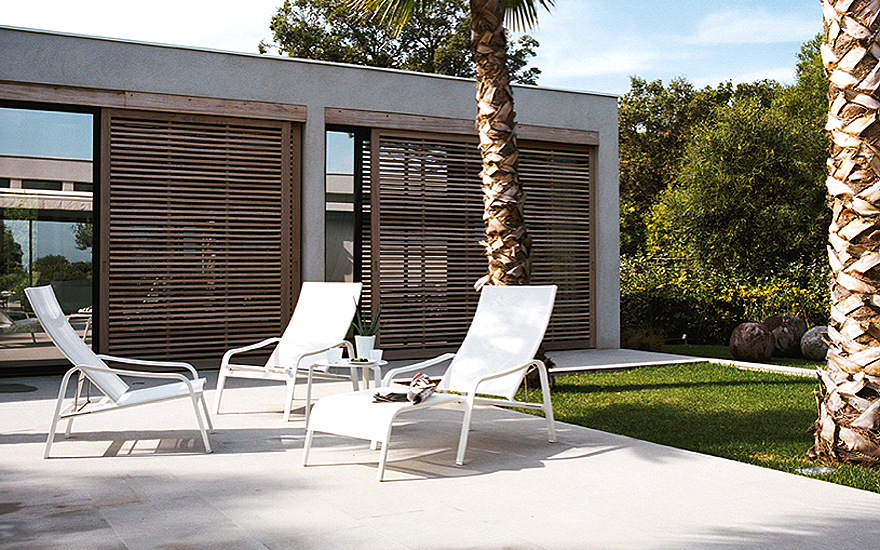 FERMOB deck chair alize