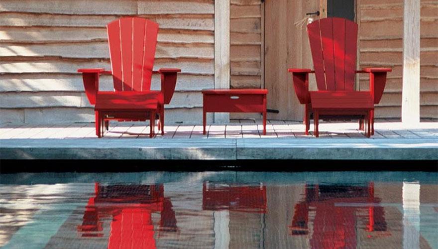 ROYAL BOTANIA New england - Fauteuils bas - repose pieds - table basse