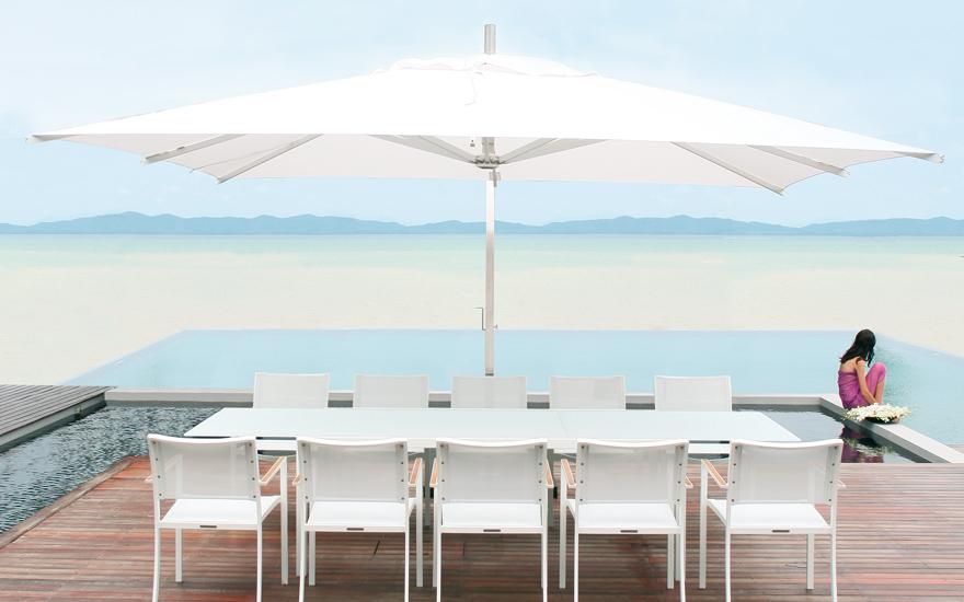 parasols et voiles design terrasse et demeureterrasse et demeure. Black Bedroom Furniture Sets. Home Design Ideas