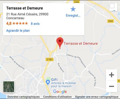 plan Terrasse et Demeure